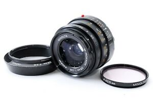 Minolta-M-Rokkor-28mm-F2-8-Leica-M-mount-for-CL-CLE-As-Is-y729