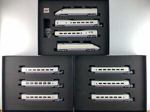 ELECTROTREN-H0-E3522-3524-3525-SET-DE-TREN-COMPLETO-034-EUROMED-034-RENFE-OP-NUEVO
