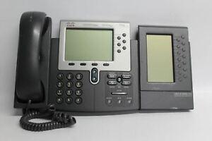 Cisco Gris 7962 Unified IP VoIP Affichage LCD Bureau Téléphone fixe