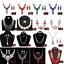 Fashion-Women-Crystal-Chunky-Pendant-Statement-Choker-Bib-Necklace-Jewelry thumbnail 5