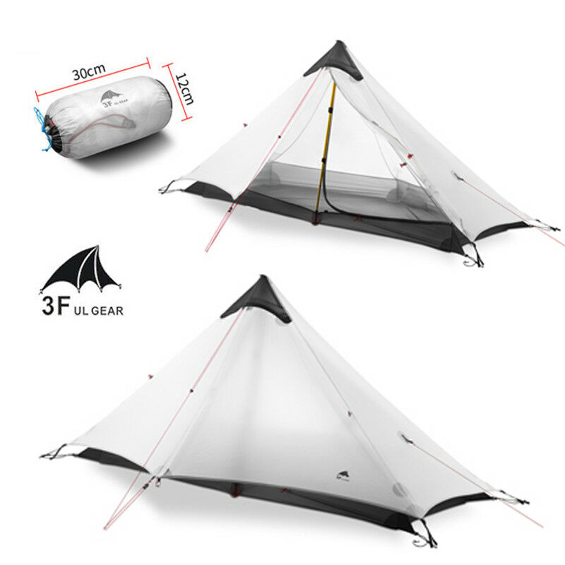3F Outdoor Ultralight 1 1 1  2 Person Single Tent 3 Season Camping Tent Lightweight 9cca24