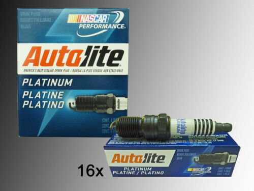 16 CANDELE Autolite PLATINO DODGE RAM 2500 /& 3500 5.7l v8 2003-2008 Hemi