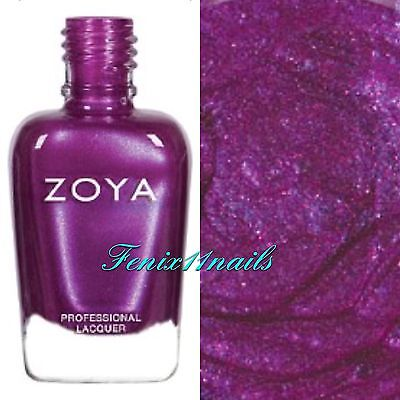 ZOYA ZP889 MILLIE dewy violet sparkle nail polish lacquer ~ CHARMING Collection