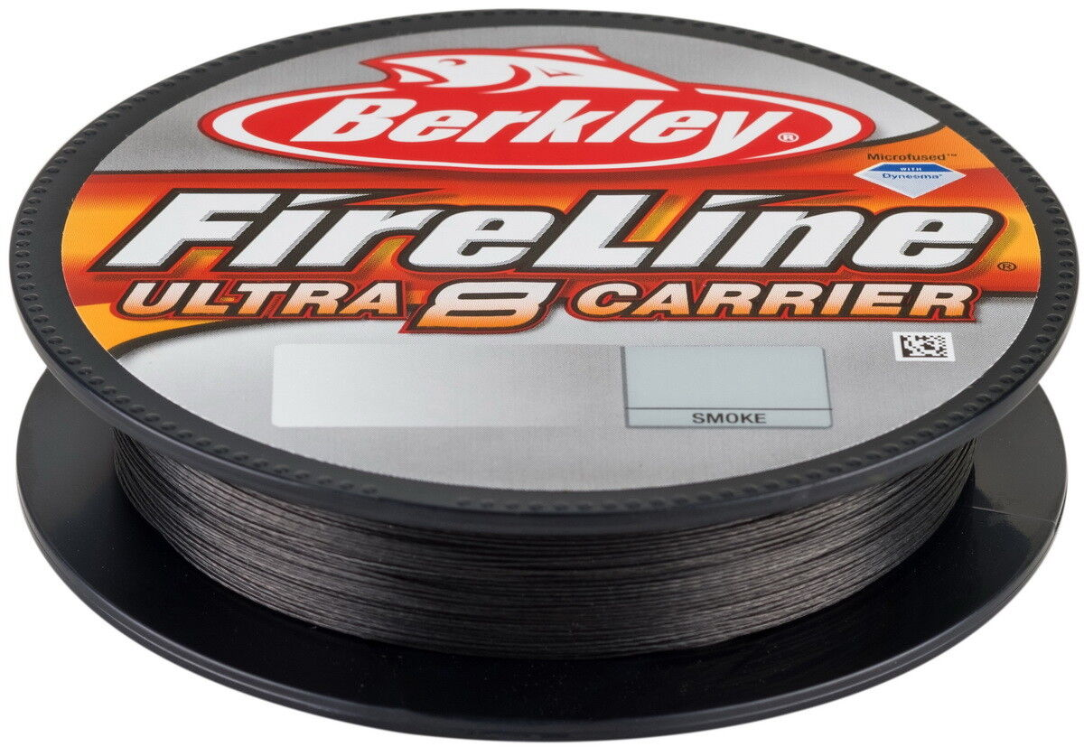 Berkley FIRELINE ULTRA 8 1800m 0.12 Smoke, Intrecciato lenza, braided line