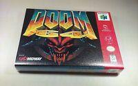 Doom 64 Nintendo 64 N64 Game Case No Game