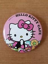 Hello Kitty Cafe Button Pin Exclusively from Hello Kitty Cafe Food Truck