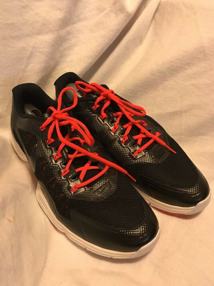 NIKE LUNAR TR1 14  Nike Lunar Mens Black Mesh Running Shoes