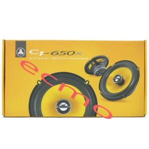 JL-Audio-C1-650x-C1-Series-6-1-2-034-2-Way-Coaxial-Car-Audio-Speakers-6-5-034-NEW
