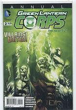Green Lantern Corps #2 NM ANNUAL  Villians United   DC Comics   MD9