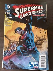Superman Unchained #2 VF 2013 DC Comic The New 52 Snyder Lee