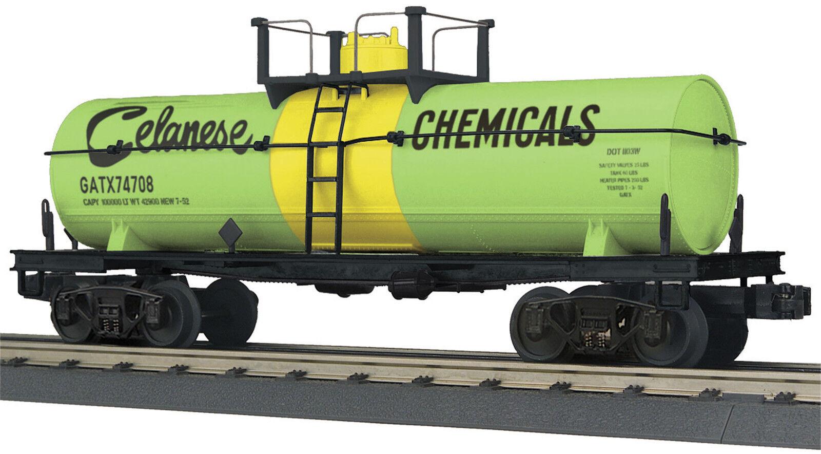 NIB O MTH Rail King 30-73403 Tankcar Celanese Chemicals  74708