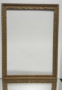 VTG-Mid-Century-Victorian-design-Wood-Picture-Frame-Fits-14-034-x26-034