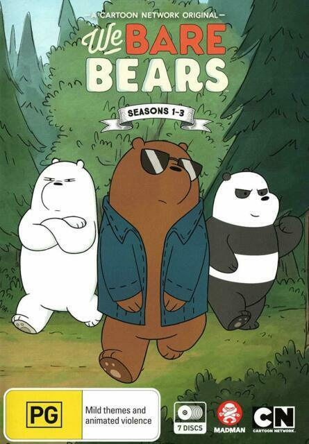 We Bare Bears Season 1 2 3 Region Dvd The Complete Series Collection 1 3 For Sale Online Ebay