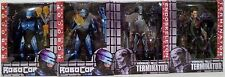 "ROBOCOP vs. THE TERMINATOR 1993 Video Game 7"" inch Figure Set of 4 Neca 2014"