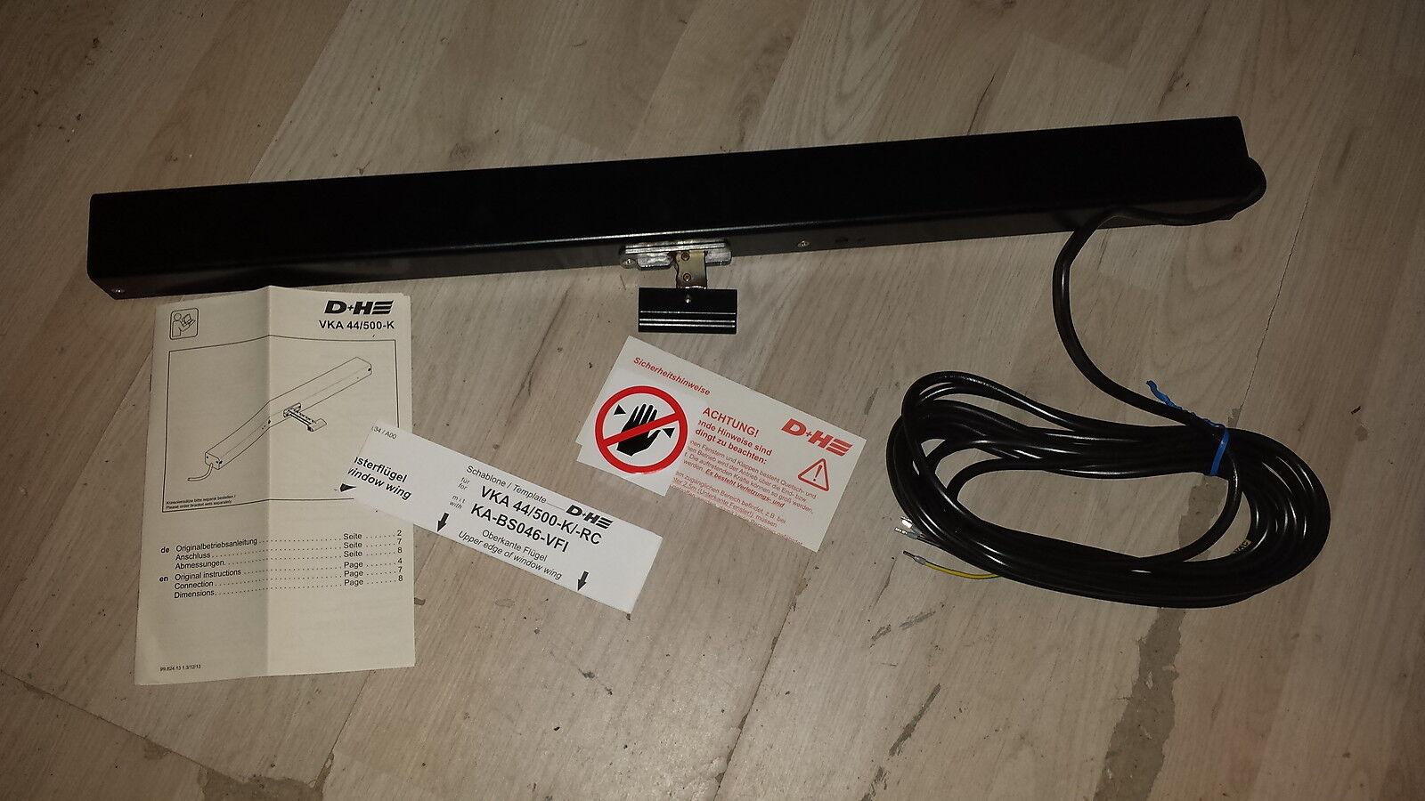 Boîtier à chaîne pour ventilation naturelle ou désenfumage D+H VKA 44/500-K NEUF