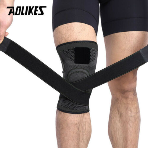 Knee Support Professional Protective Sports Knee Pad Breathable Bandage Knee 1PC