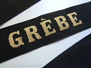 GREBE-Marine-Ruban-legende-de-bachi-authentique-cap-tally-France