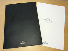 Catálogo Catalogue ROLEX - Cellini - Watches Relojes + List Price 2012