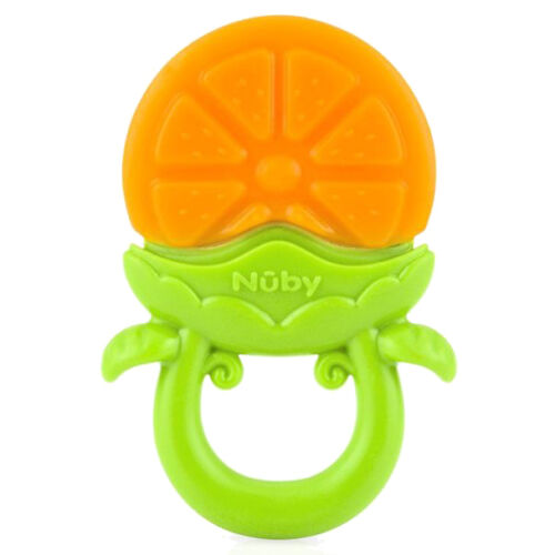 Nuby Fruity Chews Teether Orange 3ms+