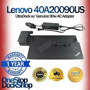 Lenovo-40A20090US-Thinkpad-ultradock-con-Original-Lenovo-90W-AC-Adaptador-40A2