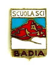 Spilla Scuola Sci Badia cm 1,3 x 1,8