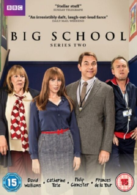 Big School Series 2 (Catherine Tate David Walliams) Season Two Region 4 New DVD