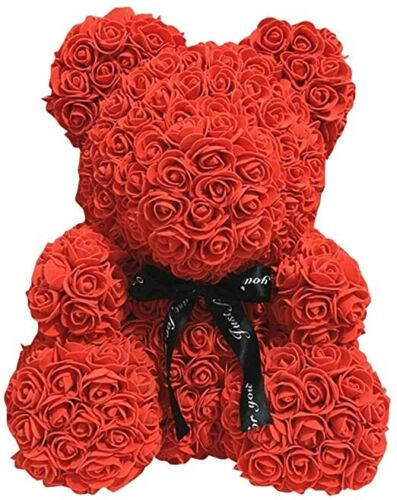 Mothers Day Gift Rose Teddy Bear