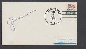 George D. Aiken, Governor &  US Senator from Vermont, signed 1968 cover