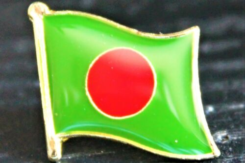 BANGLADESH Bangladeshi Metal Flag Lapel Pin Badge *NEW*