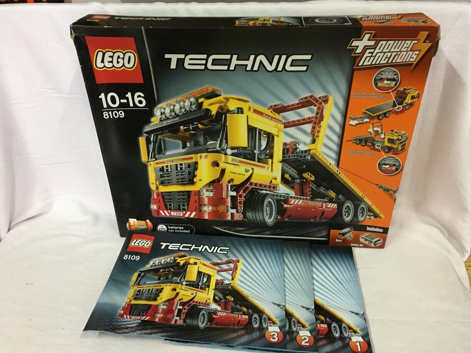 LEGO Technik Tieflader inkl. Power-Funktion 8109 OVP TOP Aussteller