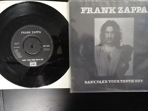 Frank Zappa Baby Take Your Teeth Out Stevie S Spanking 45