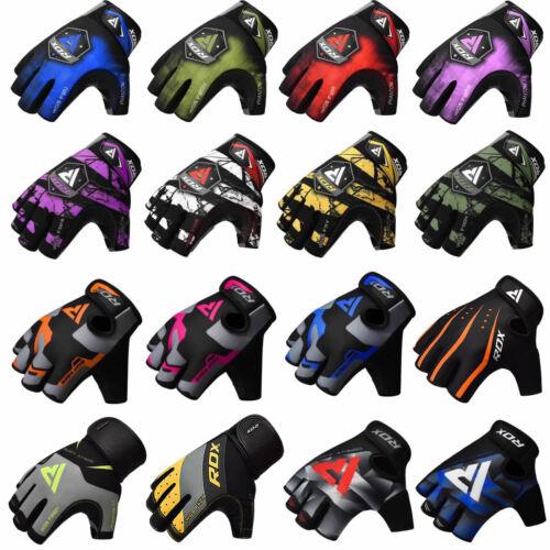 RDX Handschuhe Gewichtheben Fitness Krafttraining Sport Trainings Gym D