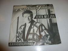 "RONNIE TOBER - Leven Met Jou - 1986 Dutch 2-track 7"" Juke Box Single"