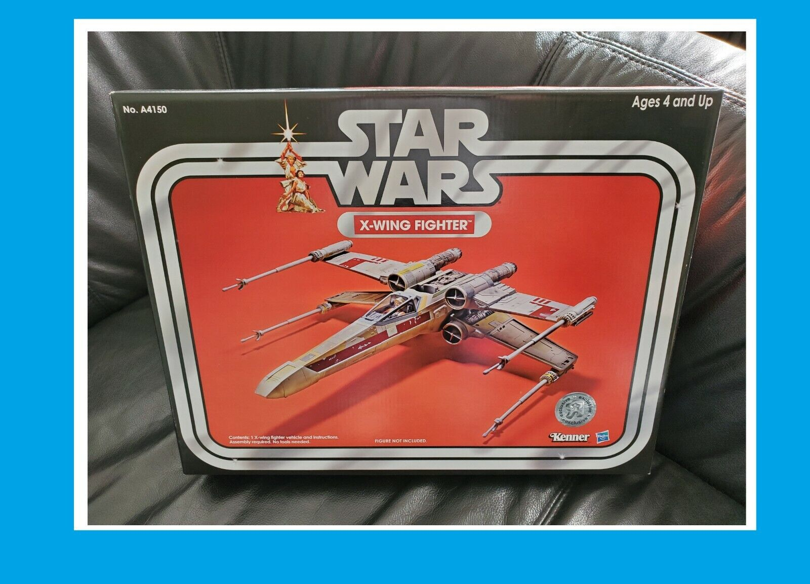 HASBRO estrella guerras THE VINTAGE  COLLECTION giocattoli R US EXCLUSIVE X-WING FIGHTER  ecco l'ultimo
