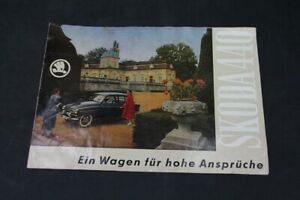 Age-Print-Skoda-440-Advertising-Brochure-Brochure-Old-Vintage-Collector