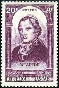 FRANCE-TIMBRE-STAMP-N-802-034-REVOLUTION-DE-1848-MGR-AFFRE-034-NEUF-XX-TTB