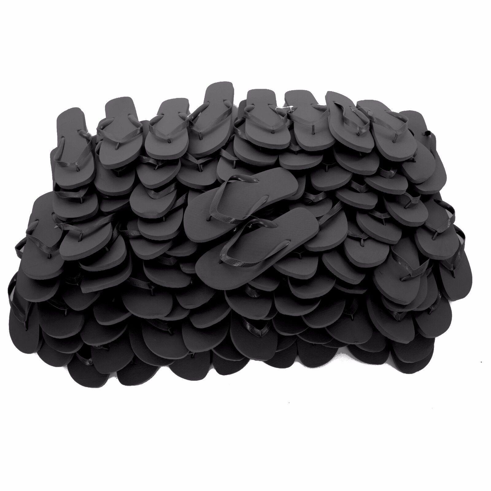 Chanclas Zohula Negro-COMPRAR A GRANEL 10 - 100 pares de sólo .35 por Par + Lote