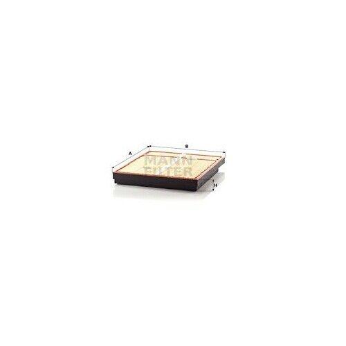 1 Filtre à air MANN-FILTER C 64 1500/1 convient à MERCEDES-BENZ