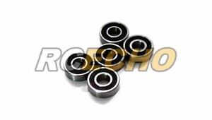 Efficace Rcs Model 6000-2rs/c Ceramic Ball Bearing (10x26x8mm, 5pcs) Cc360