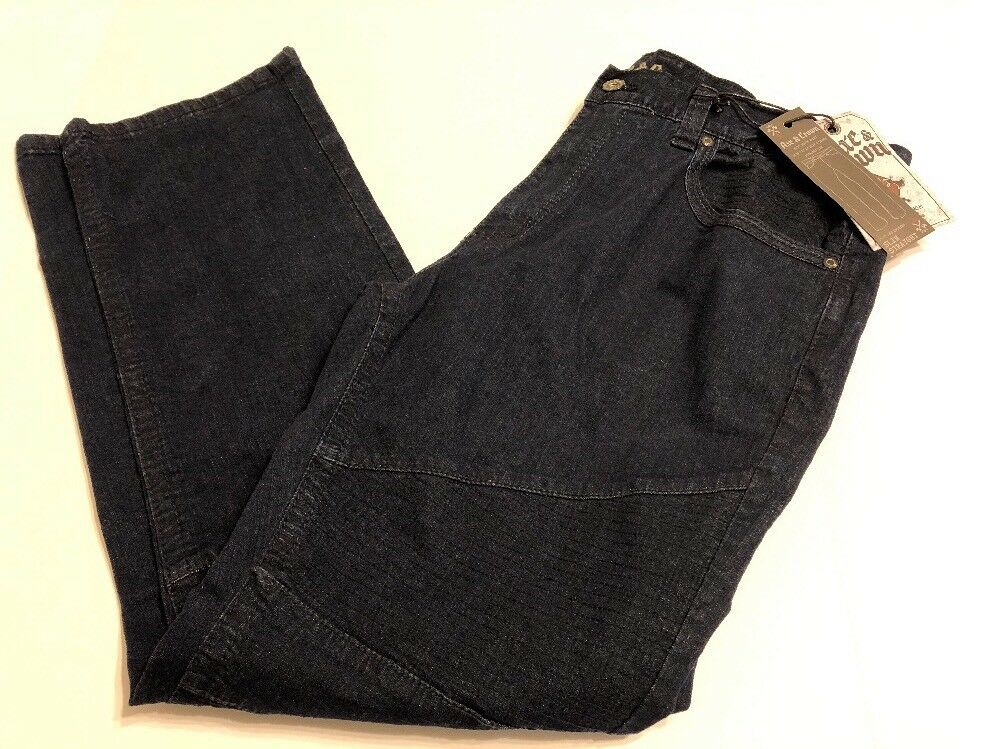 Axe & Crown Slim Straight Jeans Men Pants Size 38 x 32