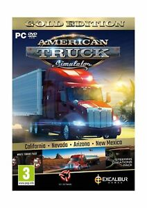 Details about American Truck Simulator Gold (New Mexico DLC/Wheel  Turning/Steering Creation