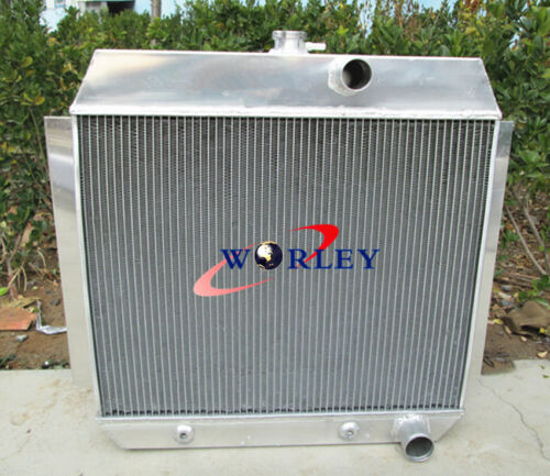 FAN 3 ROW Chevy 1951-1954 for cars W//COOLER 51 52 53 54 Aluminum Radiator