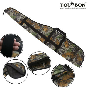Tourbon-Hunting-Rifle-Case-Tactical-Gun-Slip-Scope-Cover-Carrying-Bag-Nylon-Camo