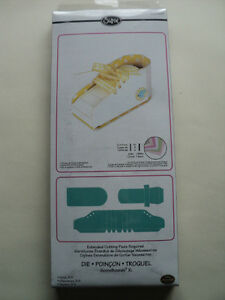 Sizzix Bigz XL Die Zapato 3-D 658987 BNIP * Para ver *