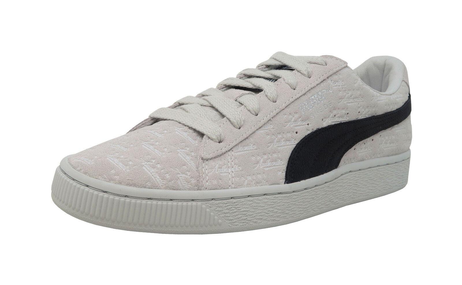 PUMA 50 50 50 Suede Classic X Panini White Black Lace Up Fashion Sneakers Men shoes 23c4f3