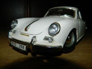 PORSCHE-356-modello-1-18-USATO-VETRINA-modello-1961-BBURAGO
