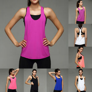 Women-Sports-Exercise-Running-Vest-Fitness-Jogging-Yoga-Cloth-Singlet-Tank-Tops