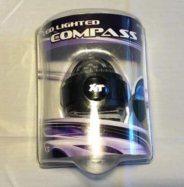 Custom Accessories 25212 Onyx Illuminated LED Compass
