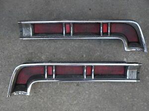Image Is Loading 1967 Pontiac Bonneville Tail Lights Amp Bezels Left