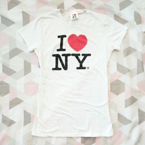 I Love NY Official Licensed Tee T-Shirt Women's Si